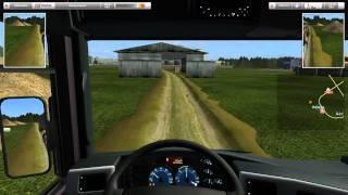 getlinkyoutube.com-German Truck Simulator Best Russia map part8