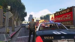 getlinkyoutube.com-GTA 5 - LSPDFR - EPiSODE 53 - LET'S BE COPS - K9 PATROL (GTA 5 PC POLICE MODS) SUICIDE ATTEMPT