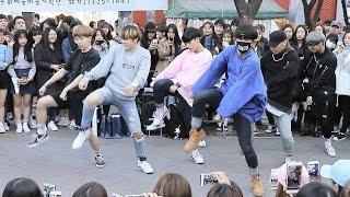"DOB(디오비): BTS(방탄소년단) ""I NEED U"" 안무(Dance) 홍대버스킹"