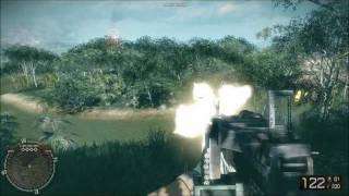 getlinkyoutube.com-Battlefield Bad Company 2 Vietnam All Weapons And Vehicles
