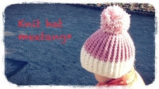 getlinkyoutube.com-引き上げ編みのニット帽の編み方How to crochet a knit hat by meetang