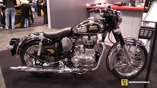 2015 Royal Enfield Classic 500 Chrome - Walkaround - 2014 New York Motorcycle Show