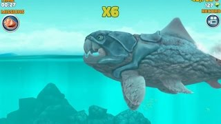 getlinkyoutube.com-Hungry Shark Evolution Big Daddy (Dunkleosteus)