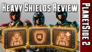 getlinkyoutube.com-(OUTDATED) Heavy Shields Comparison (Nanite Mesh Generator, Adrenaline Shield, Resist Shield)