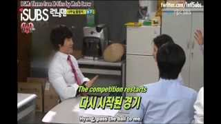 getlinkyoutube.com-Song Ji Hyo VS Kim Jong Kook (VERY FUNNY) (ENG SUB)