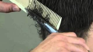getlinkyoutube.com-How to Cut Men's Hair - Cut Men's Hair with Scissors