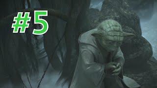 getlinkyoutube.com-The Force Unleashed II Gameplay Walkthrough Part 5 - Dagobah: The Vision - Yoda (PC 1080p)