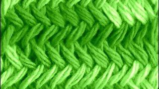 Como Tejer Punto Espigas Original - Herringbone Stitch 2 Agujas (131)
