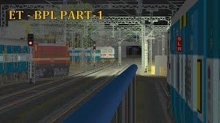 getlinkyoutube.com-[MSTS] Train Simulator Indian Railways : The Tamilnadu Express Part-1 ITARS-BHOPAL