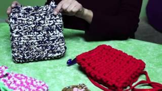 getlinkyoutube.com-Totora1- Tutorial de un bolso basico con totora