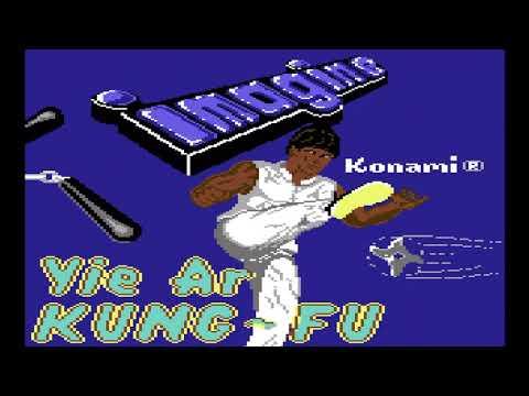 Yie Ar Kung-Fu C64