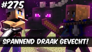 Minecraft Survival #275 - SPANNEND DRAAK GEVECHT!