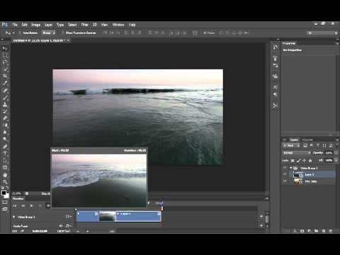 Photoshop CS6 beta Video editing