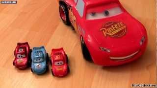 getlinkyoutube.com-Tomica Dancing Lightning Mcqueen BEAT Disney Cars 2 Takara Tomy toys Using Tuners DJ Disco Music