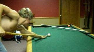 getlinkyoutube.com-Sexy guy takes off his shirt during pool. haha :)