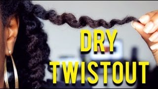 getlinkyoutube.com-How To Get The Perfect Dry Twistout | NATURAL HAIR
