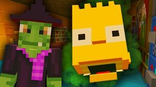 getlinkyoutube.com-Bart Simpson Home Alone   The Simpsons   Minecraft Xbox [30]