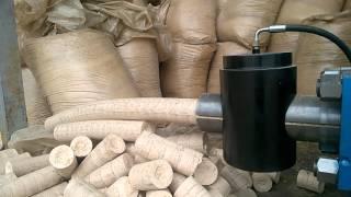 getlinkyoutube.com-HTP 200 Hidraulicna briket presa