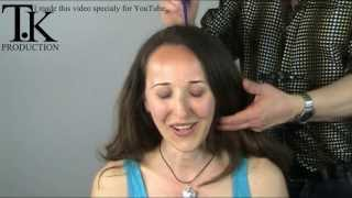 getlinkyoutube.com-Experience the feeling off cutting long hair short! Rodica by Theo Knoop