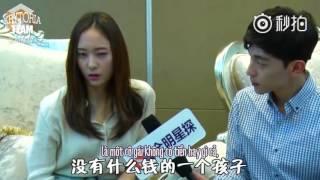 "getlinkyoutube.com-[Vietsub] f(x) Krystal - ""Graduation Season"" Interview with Deng Lun {Krytoria Team x Nhóc Tồ}"