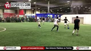 San Antonio Raiders vs. Yuriria Champions Jrs. Liga Latinoamericana