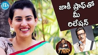 Archana About Her Relationship With Jackie Shroff || Frankly With TNR || Talking Movies with iDream