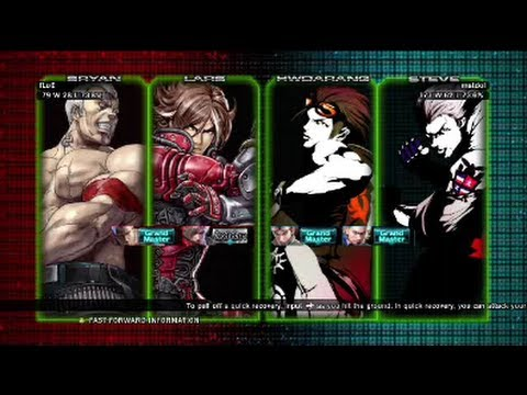 Tekken Tag Tournament 2 : EG Floe ( Lars X Bryan ) VS matdol ( Hwoarang X Steve ) Ranked Match