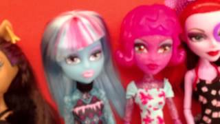 getlinkyoutube.com-Все мои куклы Monster High