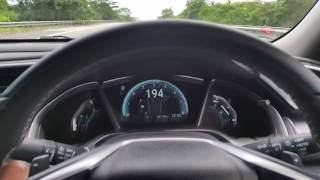 Honda Civic 1.5 Turbo Malaysia - Speed Test