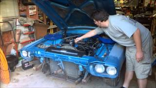 getlinkyoutube.com-66 Ford T-Bird Restoration-First Start & Drive