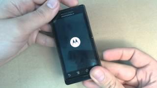 Motorola Milestone hard reset