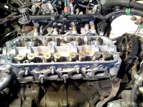 HONDA затяжка головки блока цылиндра двигателя