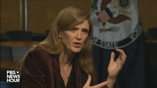 Samantha Power on Israel: 'The building has to stop.'