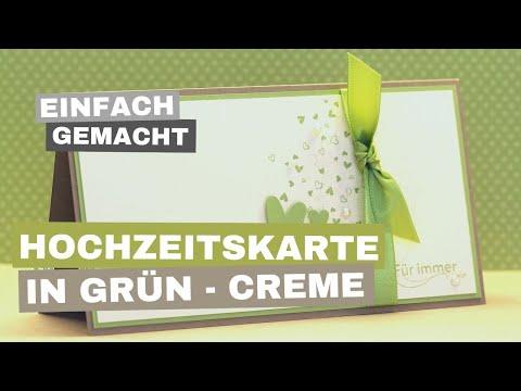 Youtube.com Videos - Hochzeitskarten selber machen Videos