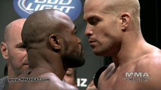 getlinkyoutube.com-UFC 133: Evans vs Ortiz and Belfort vs Akiyama Weigh-Ins + Face-Offs