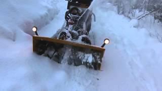 "24hp 45"" homemade snowblower gx670"