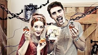getlinkyoutube.com-Halloween Cupcakes with PointlessBlog | Zoella