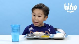 getlinkyoutube.com-American Kids Try - Episode 2: School Lunches from Around the World