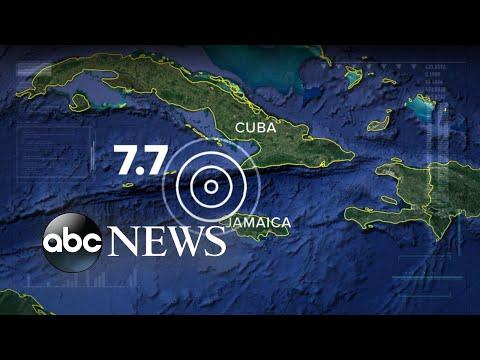 ABC News:7.7 magnitude earthquake causes evacuations in Miami