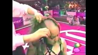 getlinkyoutube.com-Public Head Shave - A Forced Headshave In Wrestling Ring