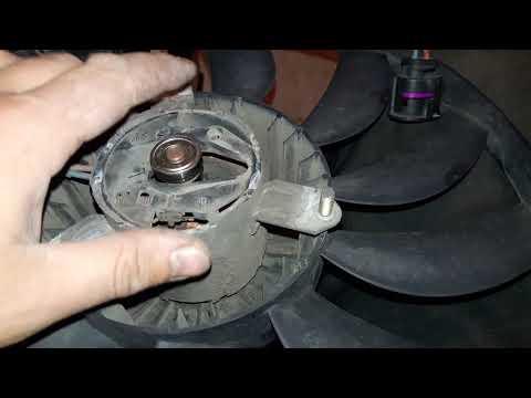 VW CADDY Ремонт вентилятора.