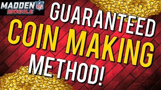 getlinkyoutube.com-The GUARENTEED Coin Making Method - Madden Mobile 16