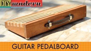 How to make a modern guitar pedalboard