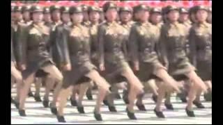getlinkyoutube.com-Corea del Nord , Parata militare per festeggiare i 60 anni della rivoluzione.