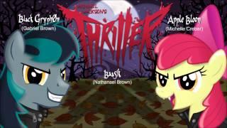 getlinkyoutube.com-THRILLER - Apple Bloom, BlackGryph0n, & Baasik Cover