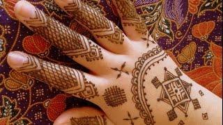 getlinkyoutube.com-Mauritanian Style Henna Design by FreeHandMehndi