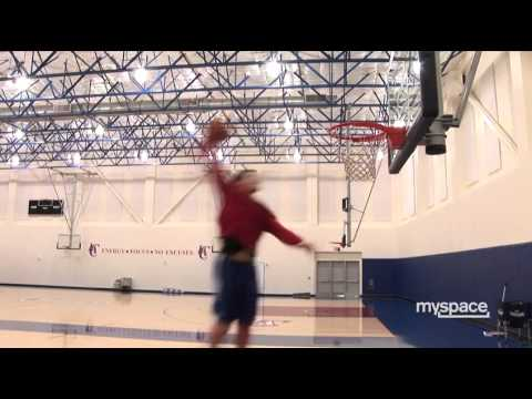 Blake Griffin Dunk Practice # 1 [EXCLUSIVE]