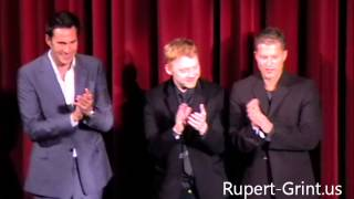 RG.us Exclusive: Rupert Grint after the Screening of The Necessary Death of Charlie Countryman.wmv