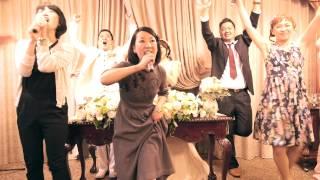 getlinkyoutube.com-こんな余興みたことない!ぺーちゃんとまきちゃんの結婚式余興(改正版)