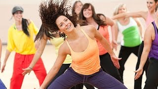 Zumba Dance home Workout  Fitness For women Beginners - Step By Step ✔